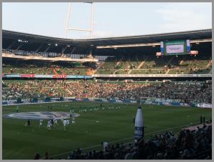 RAW Dateien mit dem iPhone 7+. Weserstadion unbearbeitet
